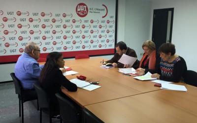 Presentando las bases de un gobierno de progreso en UGT