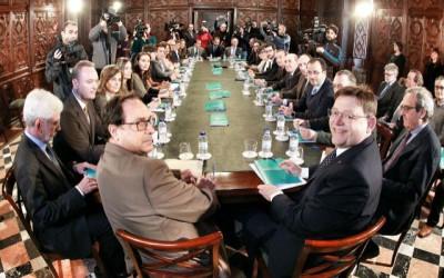 """Reunión """"unánime y cohesionada"""" para reclamar un nuevo modelo de financiación"""