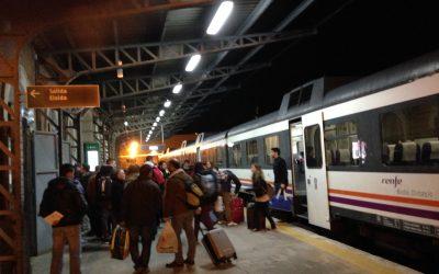 El PSOE apuesta por revisar el convenio del tren Alcoy-Xàtiva y lograr su modernización
