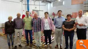 El PSOE se moviliza para encauzar en la administración las reivindicaciones del sector de la cereza en l'Alcoià i el Comtat