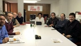Reunión de la diputada socialista Patricia Blanquer con sindicatos de prisiones de la provincia de Alicante