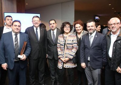 """Con la """"Nova d'Alcoi"""" y Ximo Puig"""