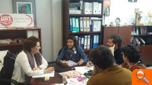 Reunión de responsables socialistas de economía y empleo de la provincia con representantes de UGT