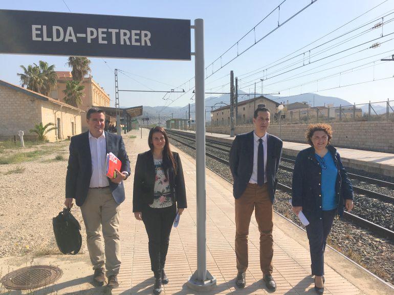El PSOE reivindica inversiones del PGE para las comarcas del Vinalopó y de la Vega Baja