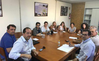Encuentro de los responsables socialistas del área económica en la provincia de Alicante