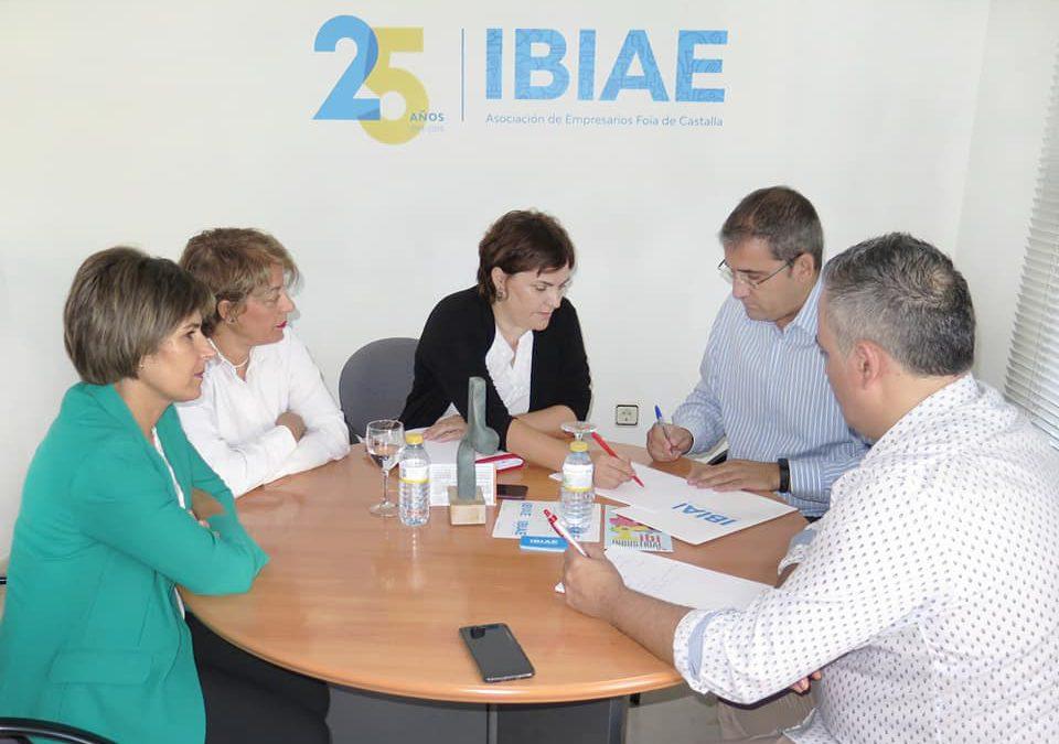 Jornada de trabajo con los compañeros de IBI y Castalla