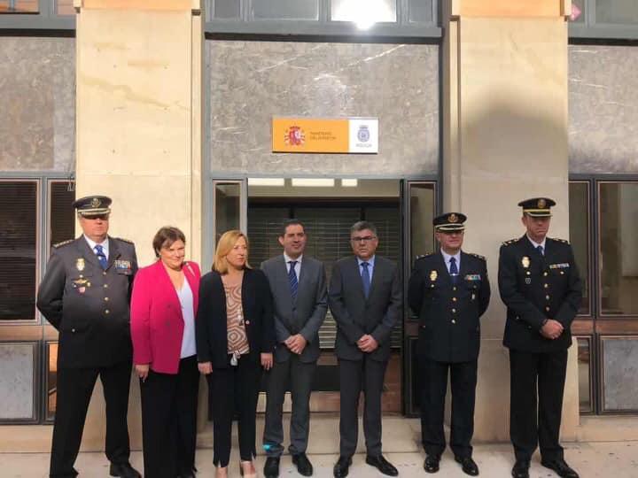 Inaguración de las nuevas dependencias de la Policía Nacional a Alcoi
