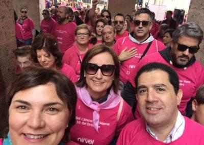Marcha por el cancer