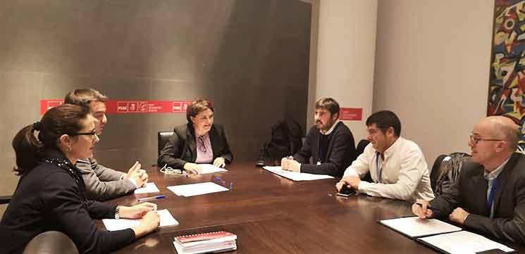 Fetransa traslada sus propuestas al PSOE