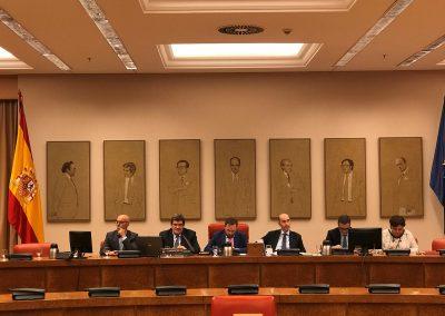 Comision de presupuestos con el Presidente de la AIREF