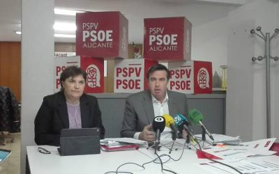 El PSPV, dispuesto a revisar las inversiones para Alicante, pero pide facilitar el trámite al PGE