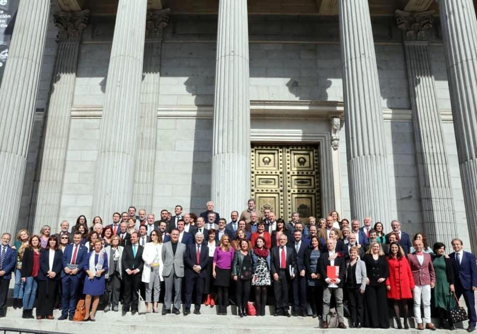 Último pleno de la XII legislatura con los 84 diputados del PSOE