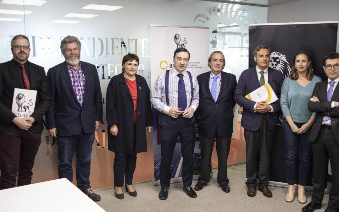 """""""Debate sobre el presente y el futuro de la energía en España."""""""