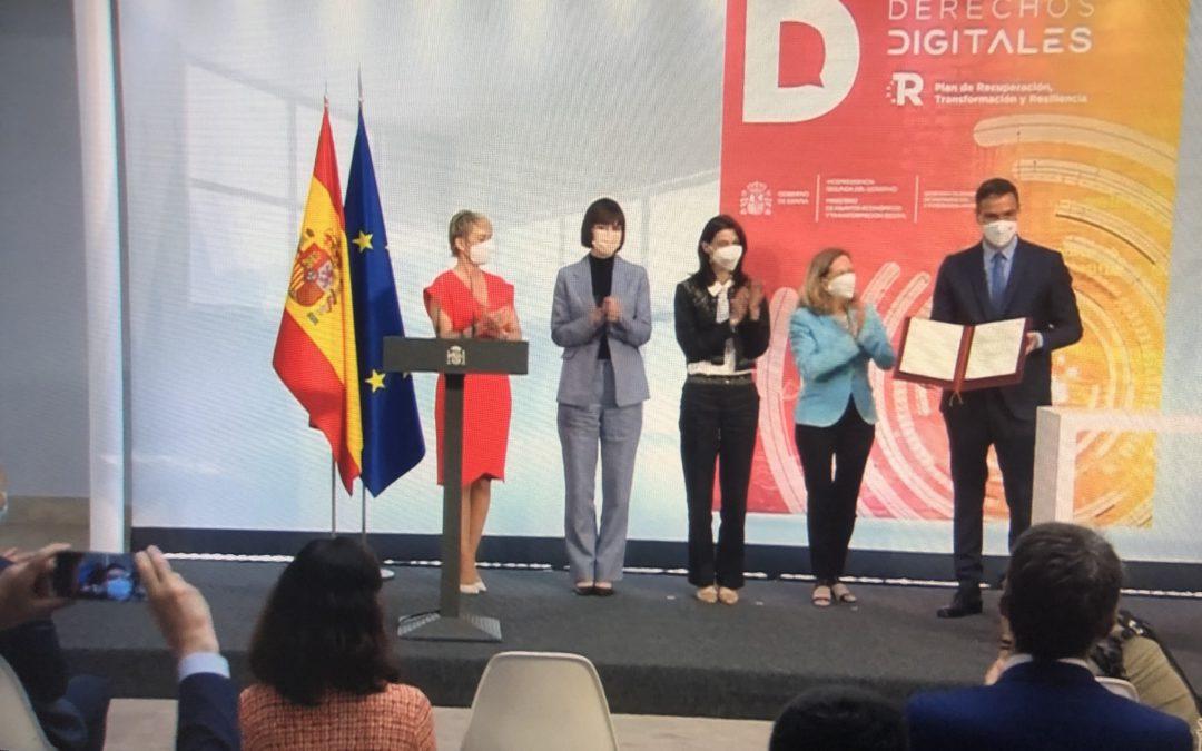 Carta de derechos digitales: brújula a seguir en la transformación digital